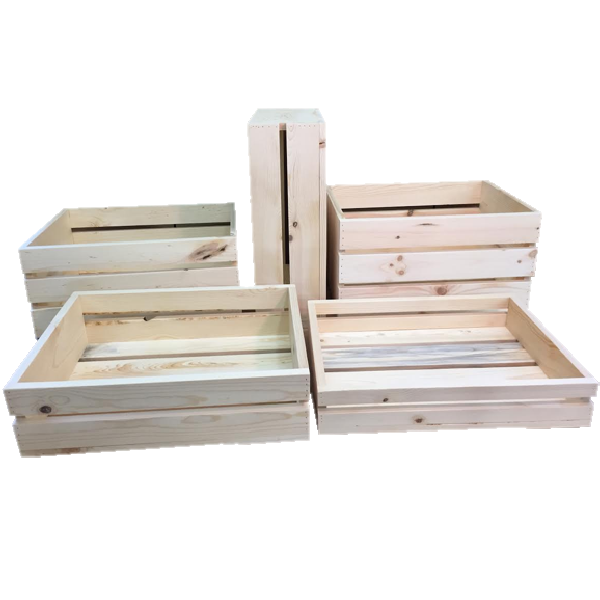 Super Sized Wooden Crates - North Rustic Design
