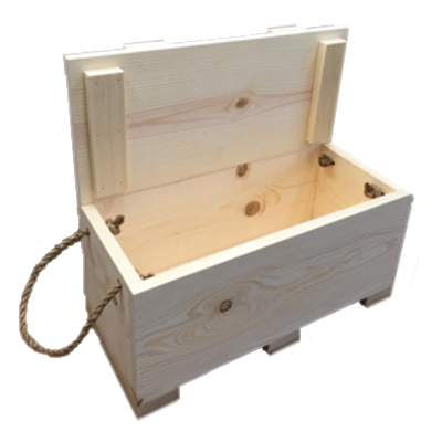 Unfinished wood boxes offer many uses. They are a great item to stock up on, especially if you're into crafting. Paper Mart has a wide selection of wooden boxes, so you'll be sure to find exactly what you need for your next project or packaging-design idea.