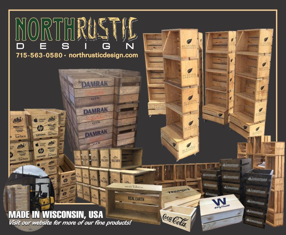 Retail And Wholesale Wood Wine Crate Boxes North Rustic Design