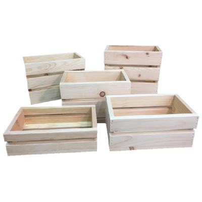 Small wooden crates north rustic design for Where do i find wooden crates