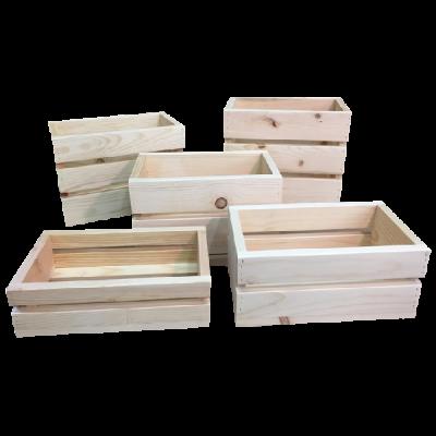 Small Wooden Crates North Rustic Design